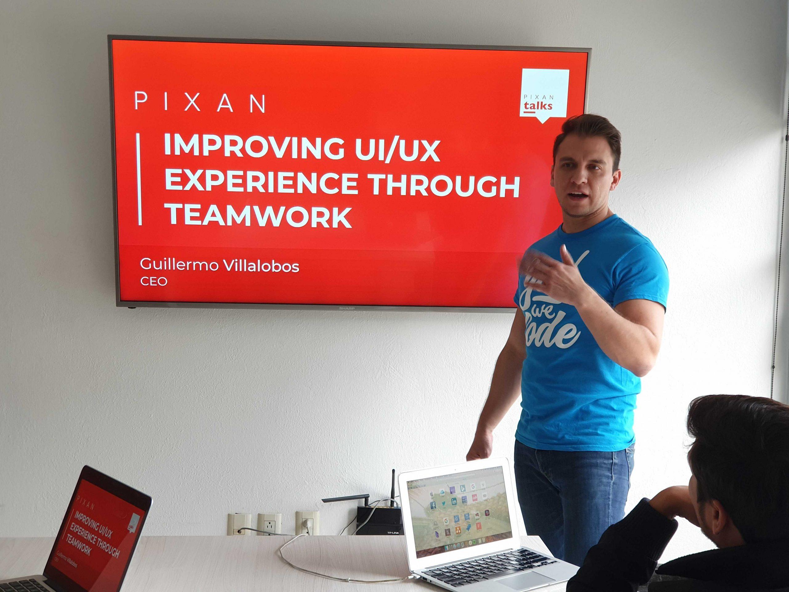 Improving UI/UX EXPERIENCE THROUGH TEAMWORK